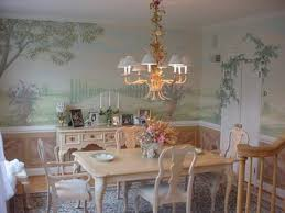 dining room mural ideas dining room decor ideas and showcase design