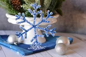 borax snowflake crafts for