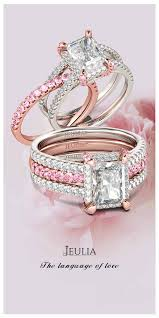 pink wedding rings pink wedding rings wedding ideas