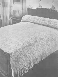 free crochet patterns dresser runner bed crochet pattern