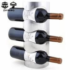 stainless steel wine racks fashion wall mounted type wine holder