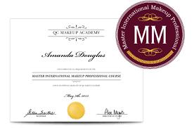 professional makeup artist certification qc makeup academy certificate mugeek vidalondon
