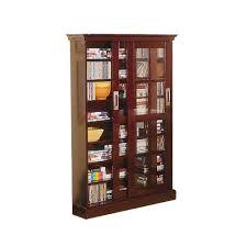 Media Cabinet With Sliding Doors Sliding Door Media Cabinet Espresso 49 Aiden Target