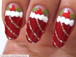 nail art 34 imposing christmas nail art image design christmas