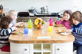 Kids Eating Table Sunday Lunch With Great Friends L Honest Mum Mummy Blog
