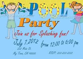 how to make pool party invitations pool party invitations diy custom printable birthday party print