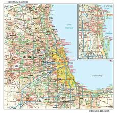chicago map chicago map illinois wallpaper from magicmurals