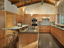 Kitchen Island And Breakfast Bar by Compelling Kitchen Island Design With Wooden Frame And Grey