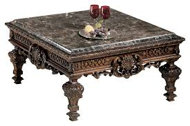 square cocktail table living room dark brown stone table top square coffee table will enhance your