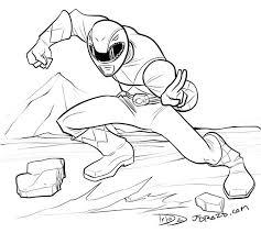 drawing u2013 red ranger comics