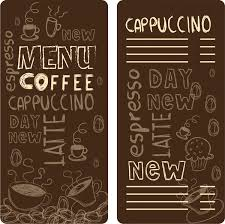 blank menu template design free vector download 15 011 free