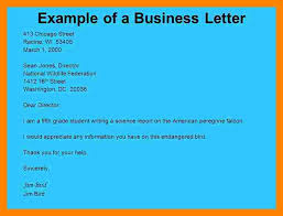 7 types of business letter and examples job resumed