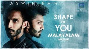 ed sheeran shape of you malayalam mashup aswin ram 15 songs
