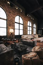Industrial Home Interior Industrial Living Room Interior Design For Home Remodeling Simple