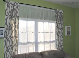Chic Home Interiors by Decor Chic Home Interior Design With Panel Curtains And Sheer