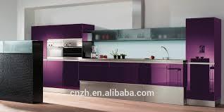 upscale purple lacquer painted kitchen cabinet model buy kitchen