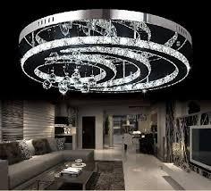 Led Chandelier Discount New Design K9 Crystal Led Chandelier Ceiling Living Room
