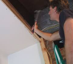 How To Hang Drywall On Ceiling By Yourself by How To Replace Ceiling Drywall