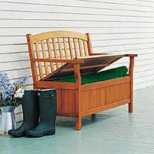 Garden Bench With Storage And Functional Outdoor Bench Furniture Garden Bench By