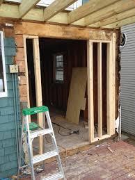 framing a window doors decks and pbr u0027s u2014 oak development u0026 design