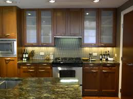 awesome wood and glass kitchen cabinets