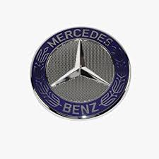 mercedes emblem badge genuine original