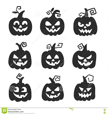 halloween pumpkin for halloween party trick or treat vector icons