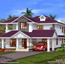 Home Design Beautiful Sloped Roof Residence Kerala Home Design