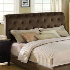 king padded headboard throughout catchy upholstered buy santa