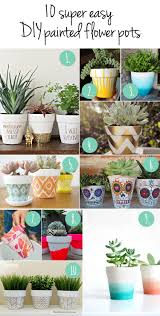Cute Flower Pots by 10 More Super Cute Ways To Diy Your Flower Pots U2014 April Bern