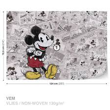 wall mural photo wallpaper xxl disney mickey mouse newsprint wall mural photo wallpaper xxl disney mickey mouse