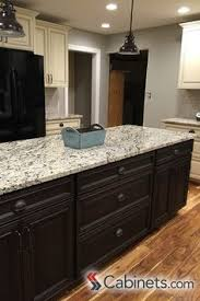 Black Glazed Kitchen Cabinets Sherwin Williams Black Bean Was A Beautiful Choice For These