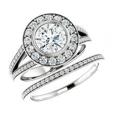 wedding sets for diamond rings weddbook