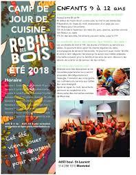 magazine cuisine en ligne activities robin des bois