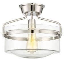 industrial flush mount light industrial flush mounts semi flush mounts you ll love wayfair