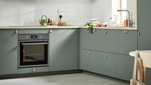 ikea grey green kitchen cabinets bodarp grey green kitchen ikea