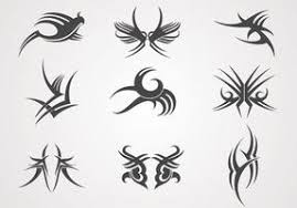 tribal tattoo free vector art 1539 free downloads