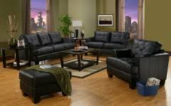 Contemporary Black Leather Sofa Modern Sofas U0026 Sectionals La Furniture Center
