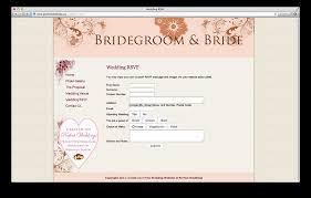 wedding websites free wedding invitation online website lovely rsvp for wedding online