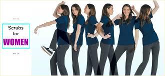 womens nursing scrubs and uniforms