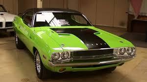 Dodge Challenger 1972 - 1970 dodge challenger 440 v8 sublime green mopar muscle car youtube