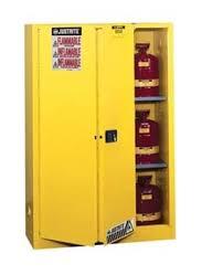 Safe Cabinet Justrite 45 Gallon Flammable Safety Cabinet Sliding Door 894580