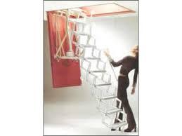 attic ladder electric access ladder