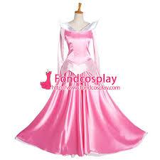 sleeping beauty princess aurora dress movie cosplay costume custom