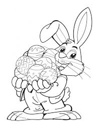 easter bunny coloring pages kids 64813