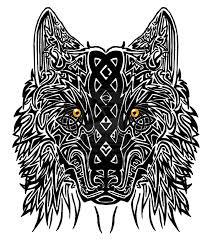 celtic wolf by dragonoir deviantart com on deviantart
