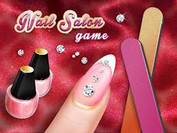 nail salon game beauty makeover nails art spa games for girls