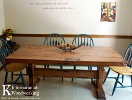 country style table k international woodworking