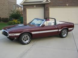 1970 shelby mustang shelby mustang convertible 1970 royal maroon for sale 0f03m481303
