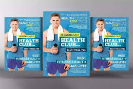 pacote template flyer panfleto academia fitness photoshop r 9
